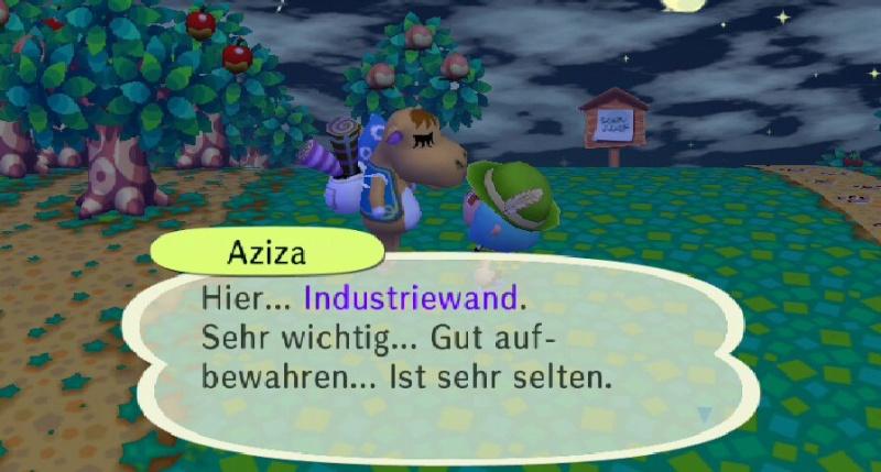 Ich habe von Aziza einen/eine ... erhalten. Ruu_1541