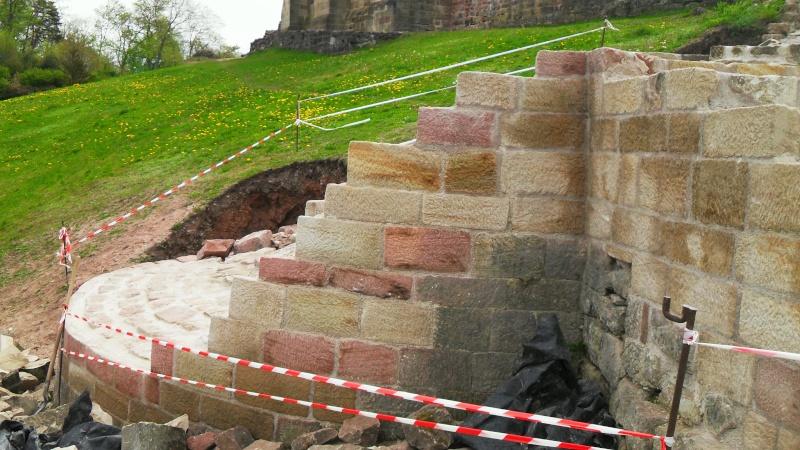 Travaux dans le Parc du Château et vieille ville - Page 2 Sdc13610