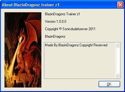 BlazinDragonz trainer z1 About_10