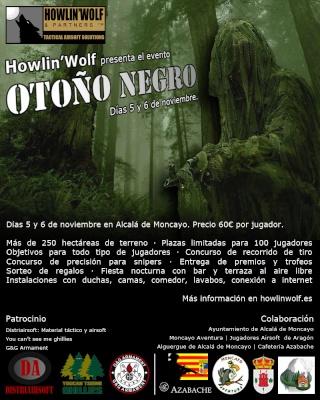 Evento OTOÑO NEGRO Cartel12