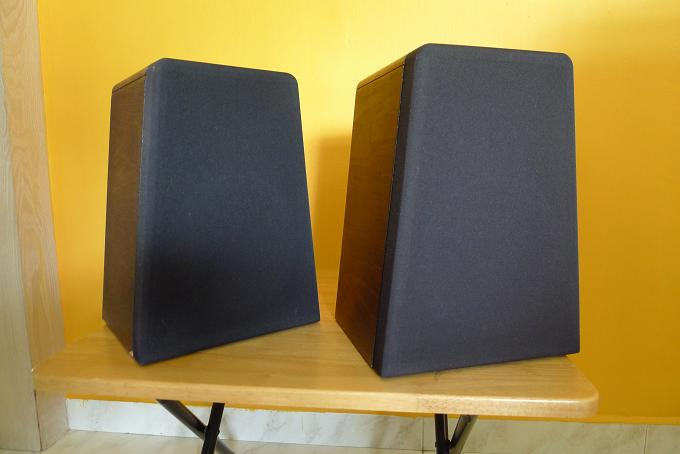 M & K Satellite 2B Speakers (Miller & Kreisel) P1000813