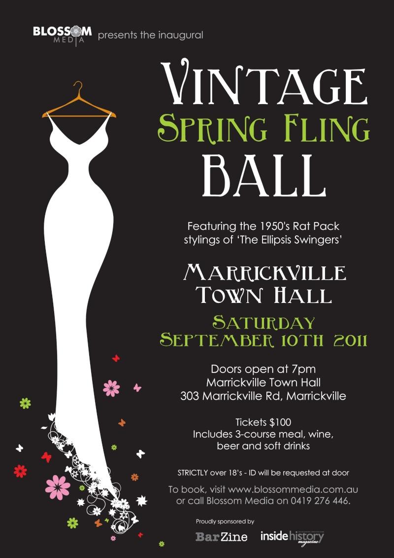 Marrickville: Spring Fling Ball Spring12