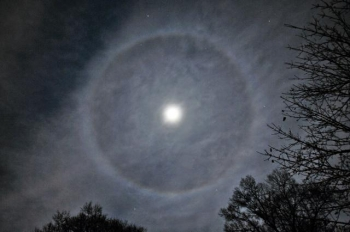 Phénomène étrange autour de la lune ce soir Halo10