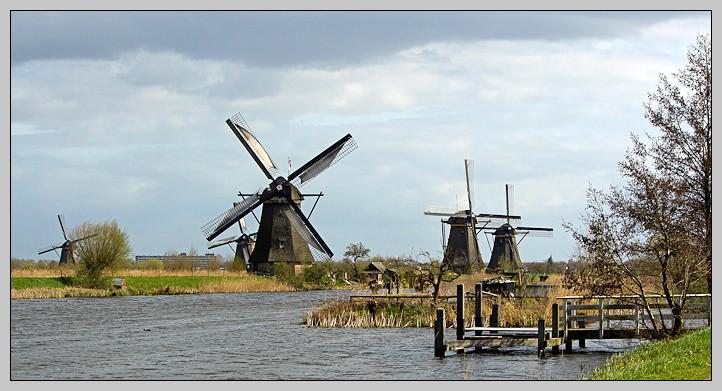 Les moulins de Kinderdijk. _mg_0917