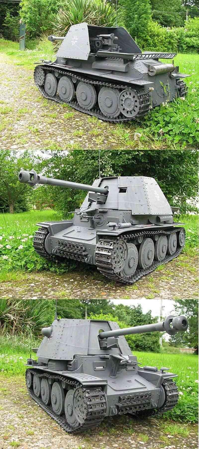 Panzer jager 38 t MARDER III Photo209