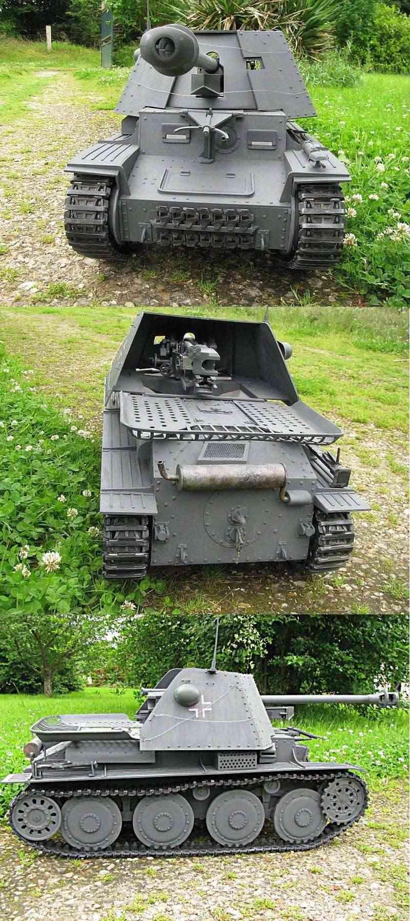 Panzer jager 38 t MARDER III Photo210