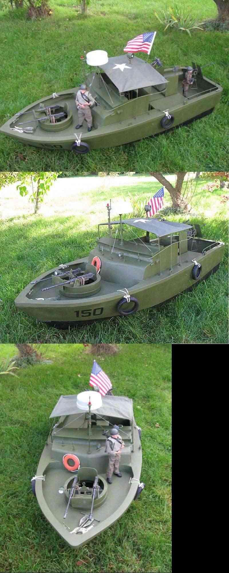 "Patrol - PBR 31 MARK II "" pibber"" ( patrol boat river) Pibber12"