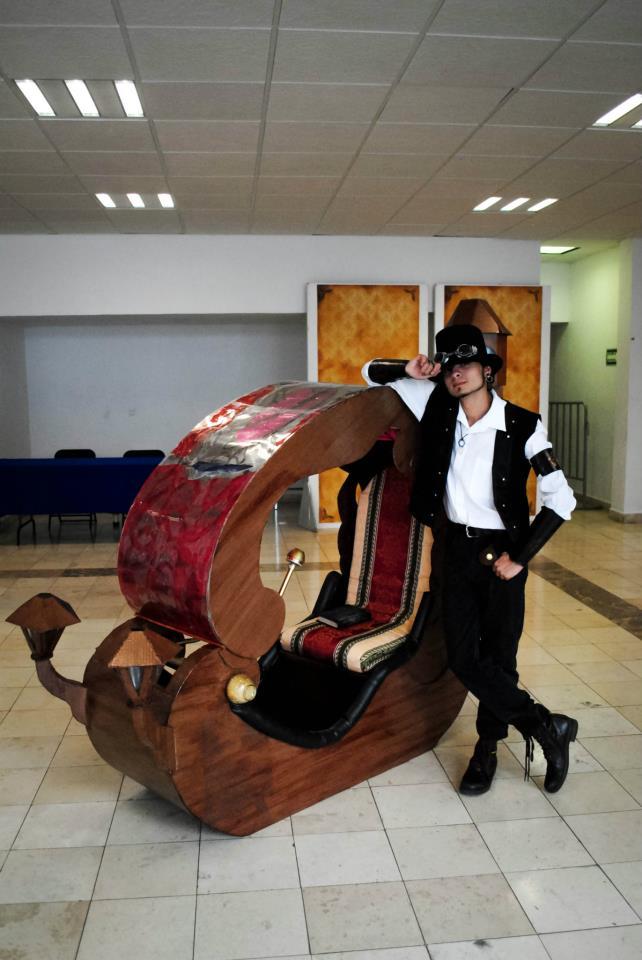 """Dossier de la Primera Edición de la Feria Internacional Noevictoriana """"La Máquina del Tiempo"""" (13-15 de JULIO DE 2012) 31931510"""