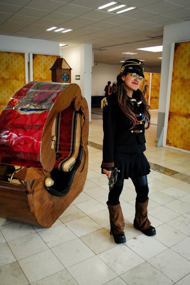 """Dossier de la Primera Edición de la Feria Internacional Noevictoriana """"La Máquina del Tiempo"""" (13-15 de JULIO DE 2012) 52405910"""