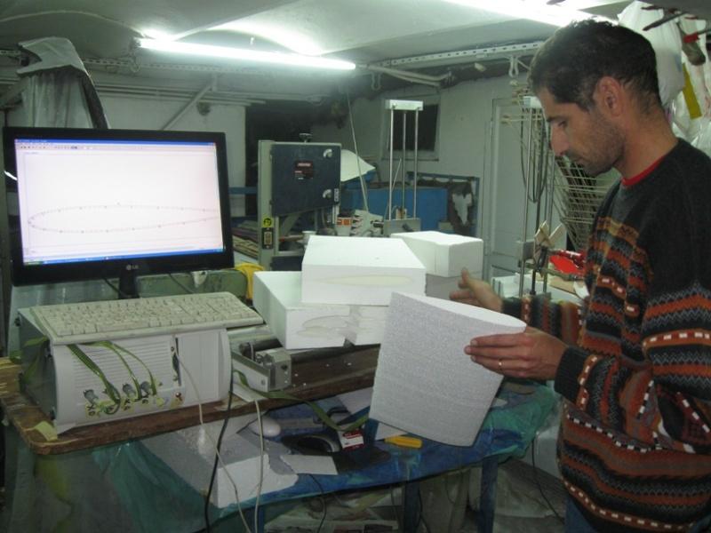 Decoupe numérique CNC en algerie laser et aile en mousse Img_0034