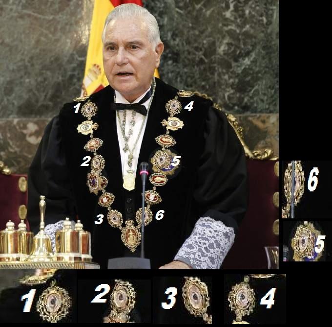 El poder judicial en España es el ojo que todo lo ve jesuita y... El rey! Carlos11