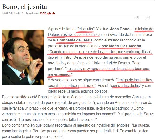 """José Bono: """"Cuando me dicen que soy de los jesuitas, me siento orgulloso"""" Jose_b10"""