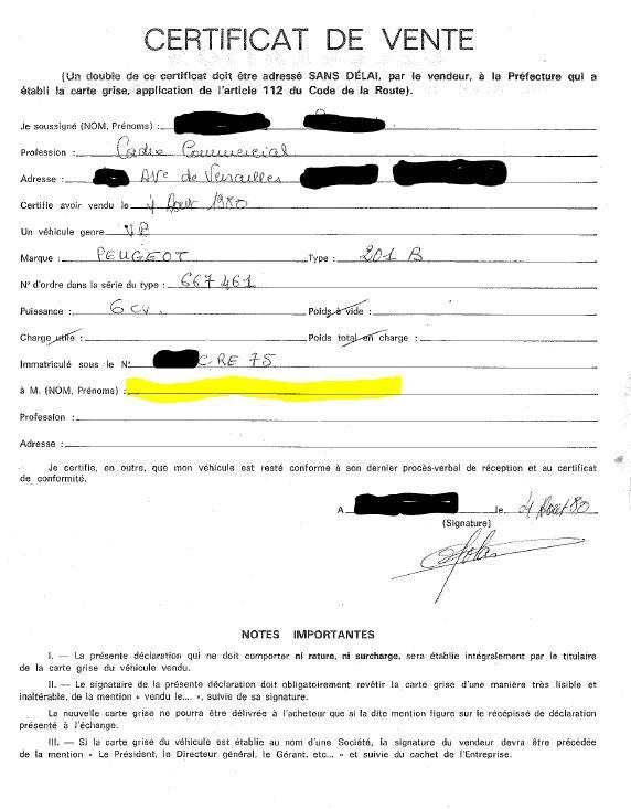 Régularisation de CG 40 ans après: mon cas perso. Cg210