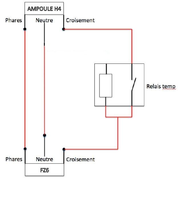{Electricité}-Montage Bixenon avec un relais temporisé Sans_t10