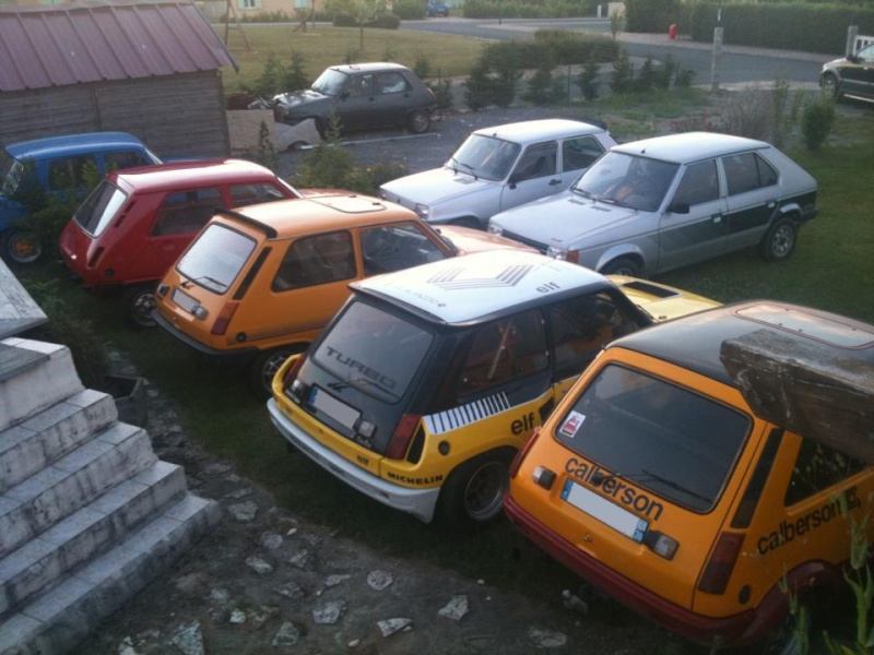 R5 GTL rouge 5 portes de 1981 1810