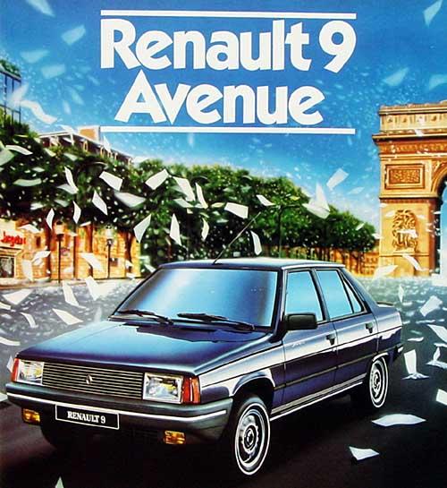 Les 30 ans de la Renault 9 1984-210
