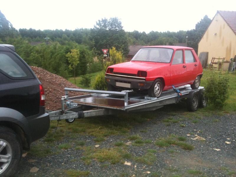 R5 GTL rouge 5 portes de 1981 2210