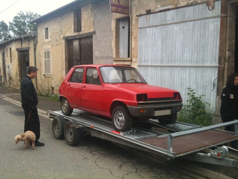 R5 GTL rouge 5 portes de 1981 2610