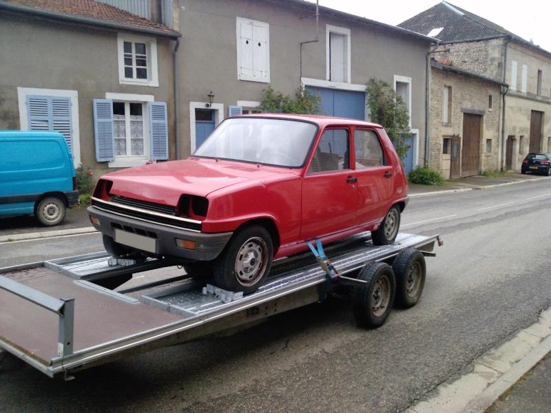 R5 GTL rouge 5 portes de 1981 2810