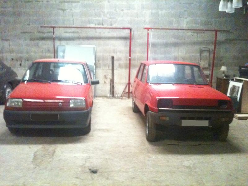 R5 GTL rouge 5 portes de 1981 2910