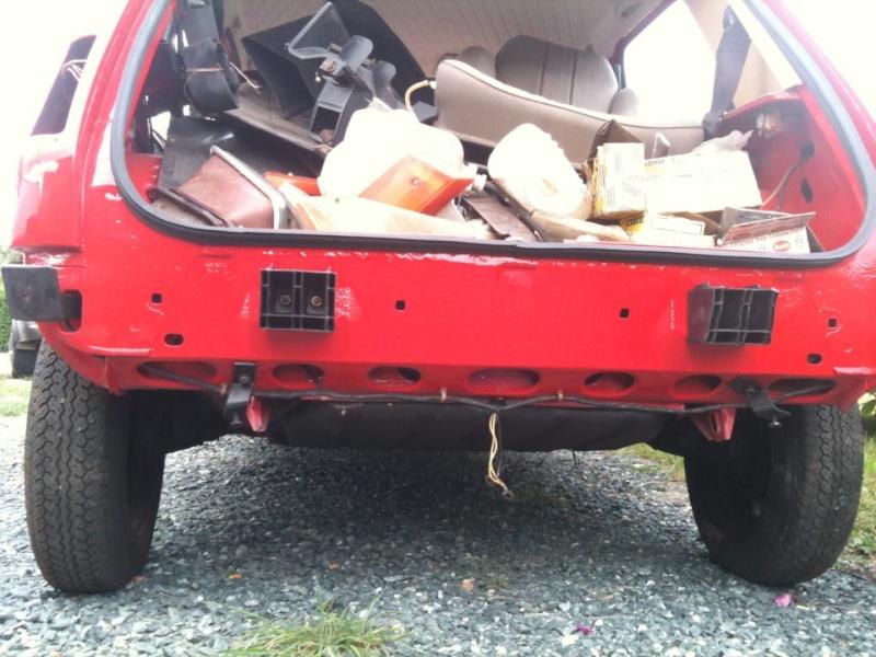 R5 GTL rouge 5 portes de 1981 52824110