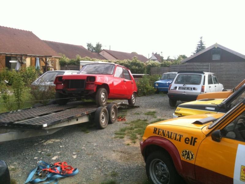 R5 GTL rouge 5 portes de 1981 55764910