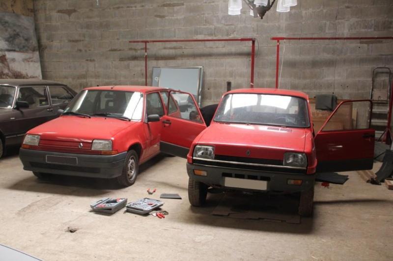 R5 GTL rouge 5 portes de 1981 Img_2816