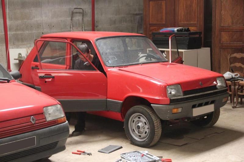 R5 GTL rouge 5 portes de 1981 Img_2817