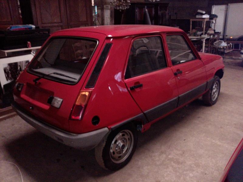 R5 GTL rouge 5 portes de 1981 P1949_11