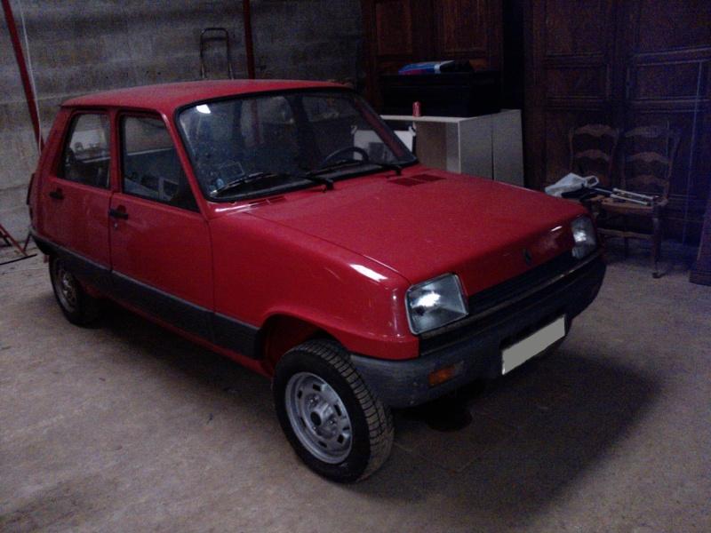 R5 GTL rouge 5 portes de 1981 P1952_11