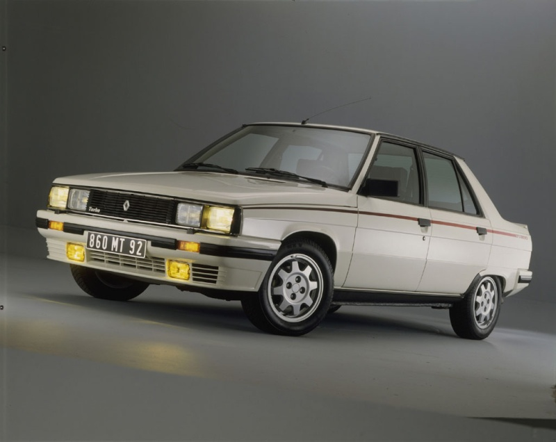 Renault 9 Turbo et Renault 11 Turbo Renaul14