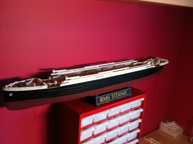 R.M.S Titanic Revell 1/400 Img_0711