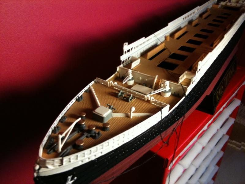 R.M.S Titanic Revell 1/400 Img_0713