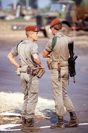 Près de 400 soldats malgaches et français du 2ème RPIMa mènent depuis samedi dernier un exercice conjoint d'une semaine contre la piraterie au port de Diégo,  2012_023