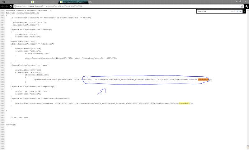 How to download things from Sims 3 The Exchange (No Registration needed). - Page 9 Captur10