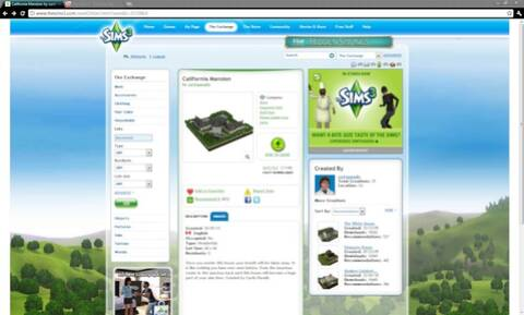 How to download things from Sims 3 The Exchange (No