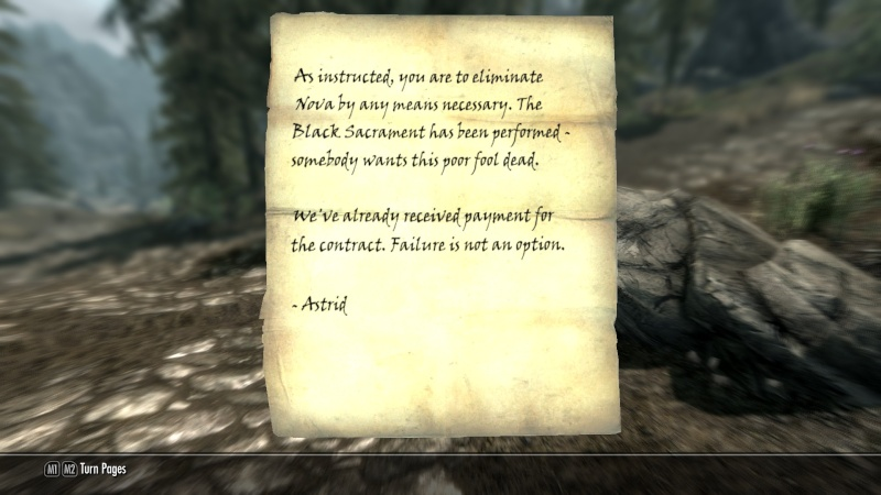 Skyrim Characters Contra10