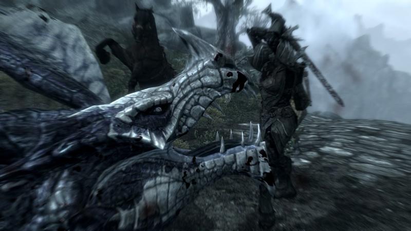 Skyrim Characters Dragon10