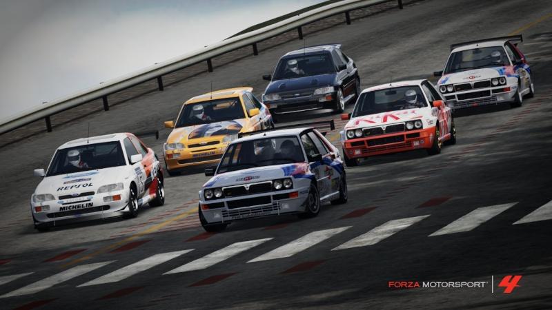 [FM4 TRC Rally Delta Vs Escort] Fotografie Fuji710