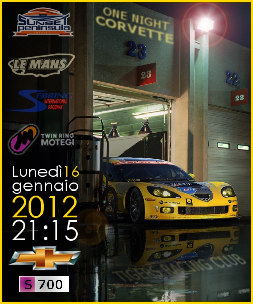 [ONE NIGHT] CORVETTE wolrd CUP DOMANDE E DUBBI Onenig10