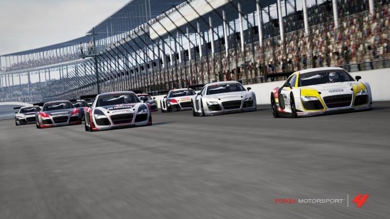 [ALBUM GARA] One night - Audi R8 LMS - Indianapolis 500 Gp R8-1110
