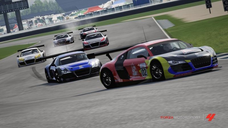 [ALBUM GARA] One night - Audi R8 LMS - Indianapolis 500 Gp R8-310