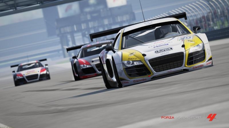 [ALBUM GARA] One night - Audi R8 LMS - Indianapolis 500 Gp R8-410