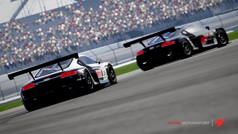 [ALBUM GARA] One night - Audi R8 LMS - Indianapolis 500 Gp R8-510