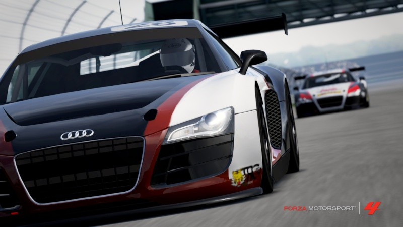 [ALBUM GARA] One night - Audi R8 LMS - Indianapolis 500 Gp R8-710