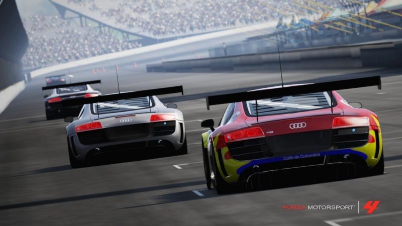 [ALBUM GARA] One night - Audi R8 LMS - Indianapolis 500 Gp R8-810