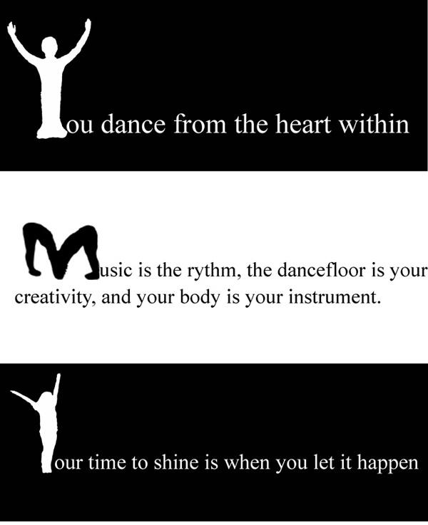 Assignment 8: Dance Silhouettes (Drop Caps)  Due Fri Mar 16 Dancer10