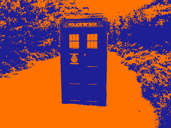 Assignment 5: Gradient Maps on a full color photo Tardis12