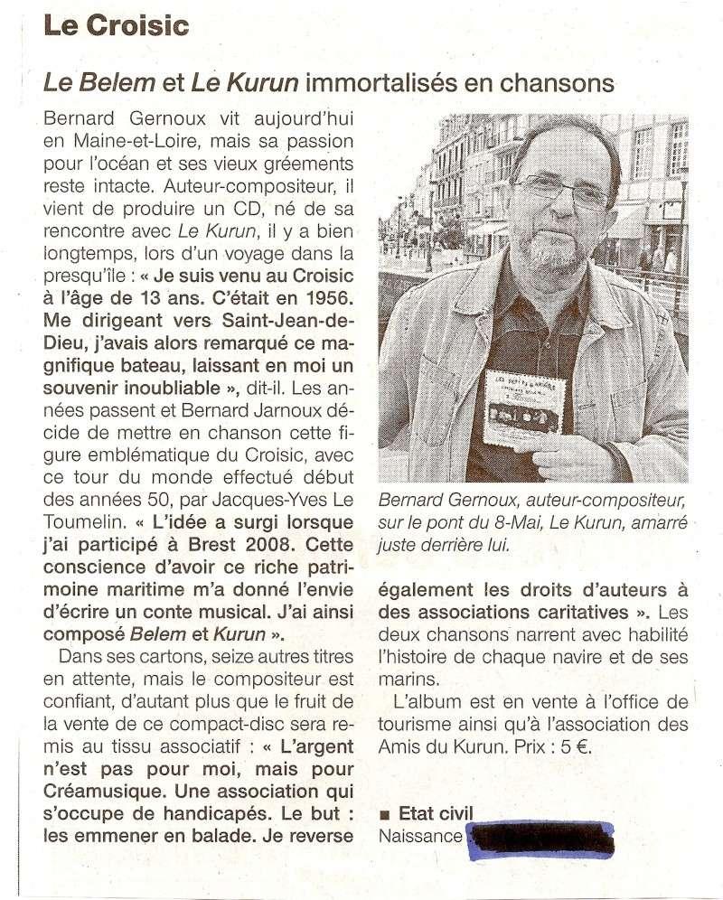 [Activité hors Marine des ports] LE CROISIC Port, Traict, Côte Sauvage... - Page 3 Le_cro12