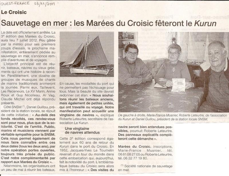 [Activité hors Marine des ports] LE CROISIC Port, Traict, Côte Sauvage... - Page 3 Le_cro13